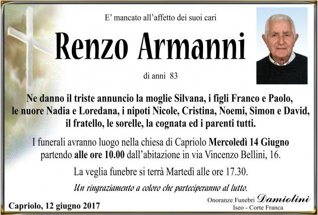 Sig. Renzo Armanni