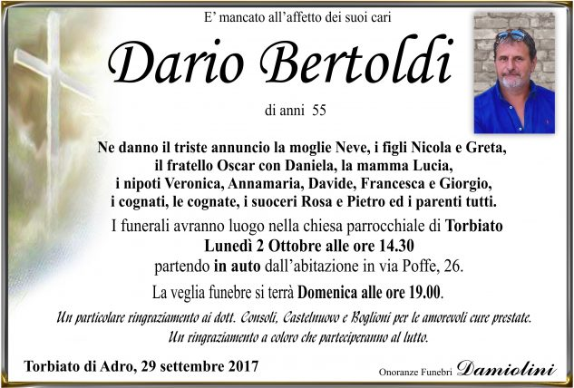 Sig. Dario Bertoldi