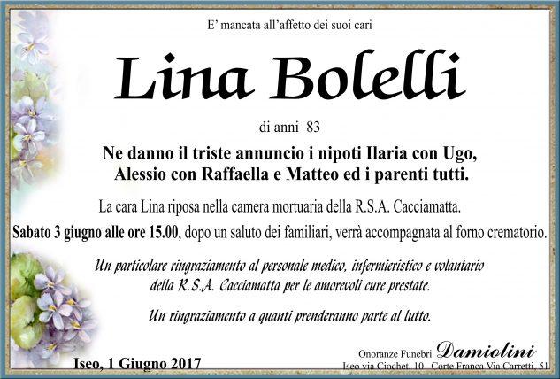 Sig.ra Lina Bolelli