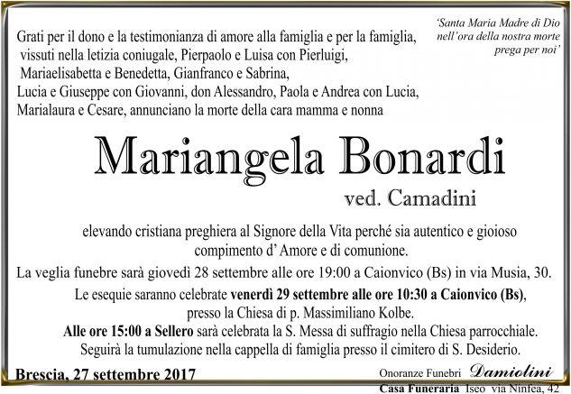 Sig.ra Mariangela Bonardi