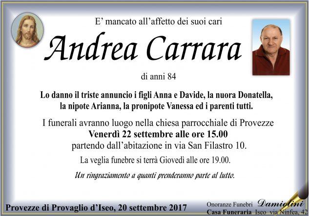 Sig. Andrea Carrara