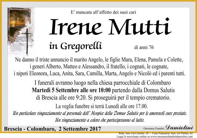 Sig.ra Irene Mutti