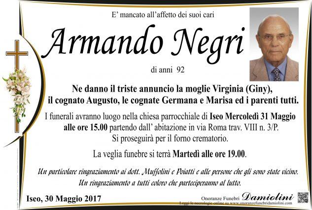 Sig. Armando Negri