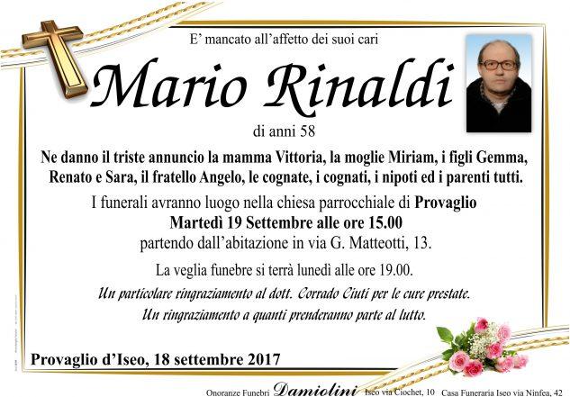 Sig. Mario Rinaldi