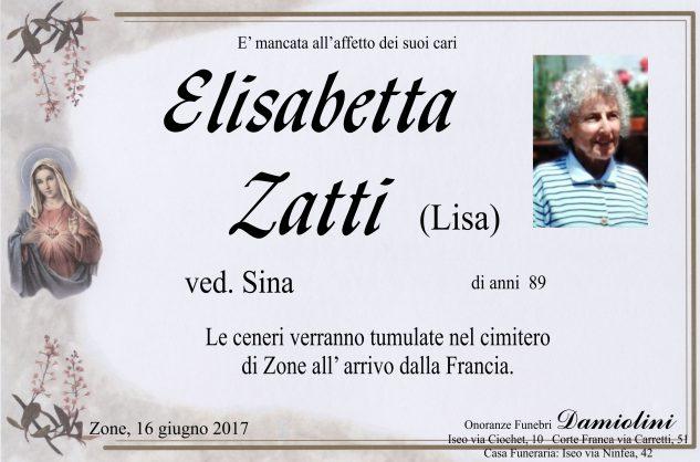 Sig.ra Elisabetta Zatti