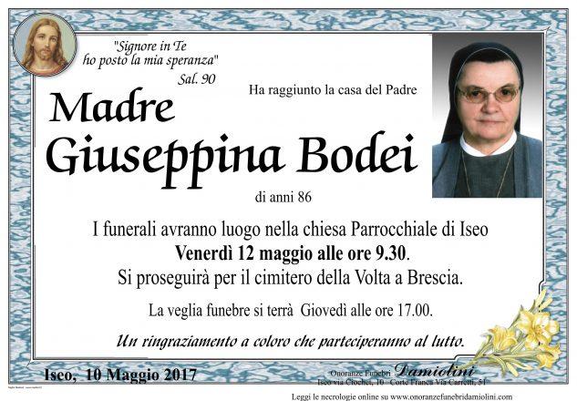 Madre Giuseppina Bodei